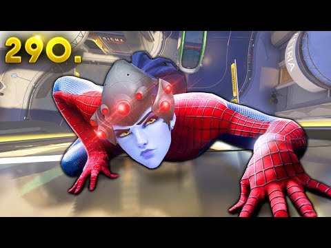 Spider-Woman Widow..!! | OVERWATCH Daily Moments Ep. 290 (Funny and Random Moments)