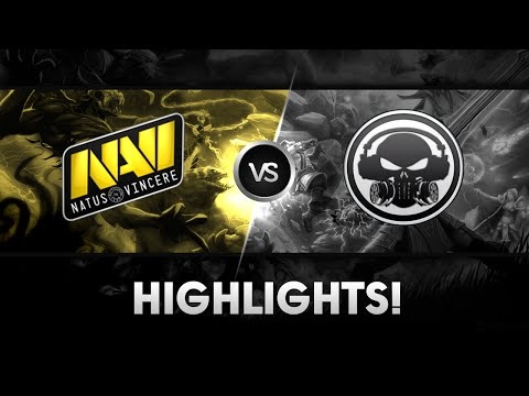 Na`Vi vs IAP.XCTN - Highlights @ SLTV X LAN-Finals