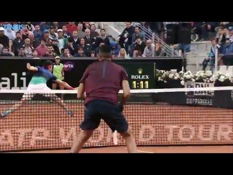 2016 Internazionali BNL d'Italia - Wednesday highlights feat. Djokovic, Nadal, Federer & Murray