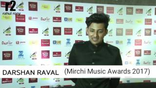 Darshan Raval || Mirchi Music Awards 2017