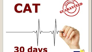30 days 1 month to CAT 2014 Exam