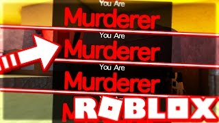 FOUR MURDERER ROUNDS IN A ROW?! (Murder Mystery 2 | Roblox)