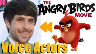"""The Angry Birds Movie"" Voice Actors and Characters"