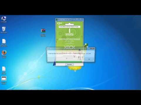 Xbox Live Code Gratuit Xbox