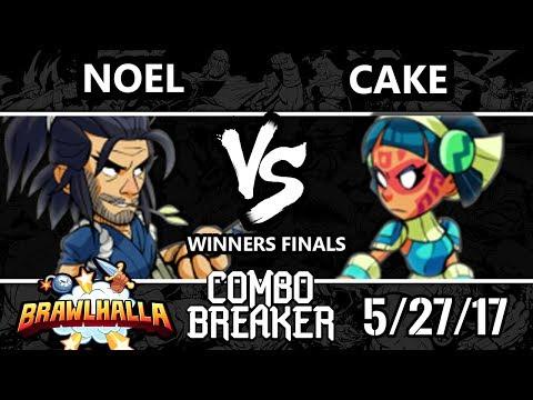 Combo Breaker 2017 Brawlhalla - FP | Noel (Koji) vs [R]eason | Cake (Queen Nai) - WF