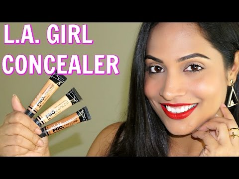 L.A.Girl HD PRO Concealer Review *NOW In INDIA*   ShrutiArjunAnand