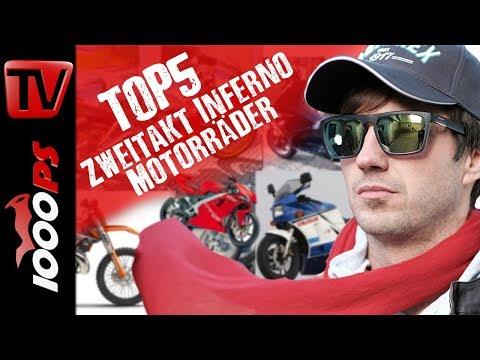 Top 5 - Zweitakt Inferno Motorräder  Faszination Zweitakt Power