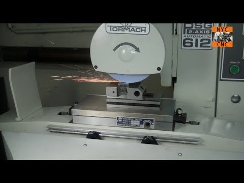 Tormach Personal Surface Grinder! PSG 612 - Just Arrived!  First cuts...