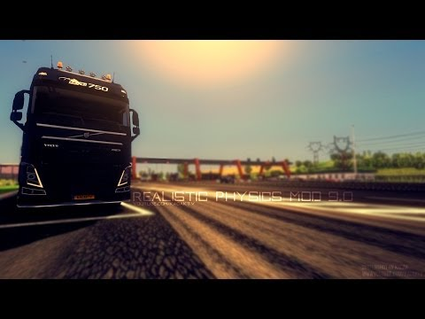 Euro Truck Simulator 2   Realistic Physics Mod v9.0   Official Version!   Updated for 1.9.0+