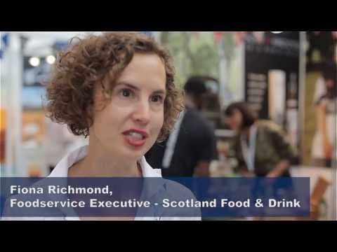 Fiona Richmond, Foodservice Executive for Scotland Food & Drink talking about the growing appetite for scottish produce around the world and the quality and ...