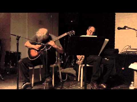 Marc Ribot and Roy Nathanson Duo at The Stone pt 7