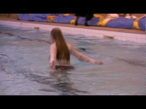 wetlook fun in the pool clothed