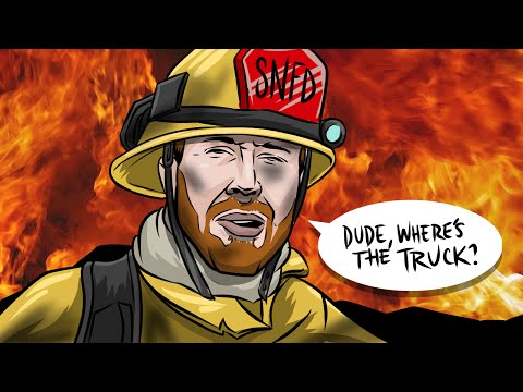 FIREFIGHTER FAIL (Garry's Mod Prop Hunt)