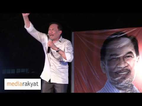 Anwar Ibrahim: Tanggungjawab Kita Adalah Bawa Perubahan, Kerja Kuat, Tentukan Dia Kalah