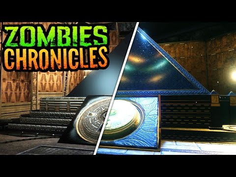 *NEW* BO3 ZOMBIES CHRONICLES MOON GAMEPLAY COMPARISON MONTAGE (Black Ops 3 Zombies Chronicles Moon)
