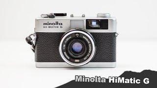 Minolta Hi-matic G - Bigger is NOT always better
