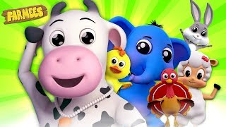 Best Kids Songs Collection   Kindergarten Nursery Rhymes & Baby Songs   Cartoon Videos by Farmees