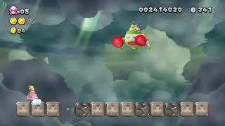 Super mario bros deluxe switch bowser Jr boss