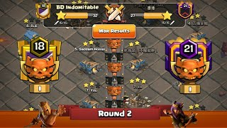 Clan War Leagues - TH12 Attacks 2019 - Clash Of Clans - Round 2 (Season 5)