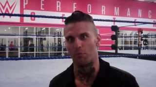 NXT Corey Graves at WWE Performance Center 2014