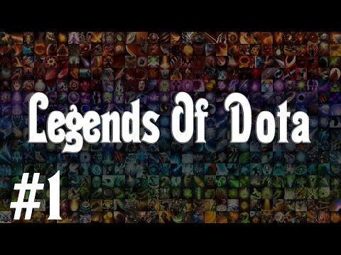 Legends Of Dota #1 | Первый билд Танка |