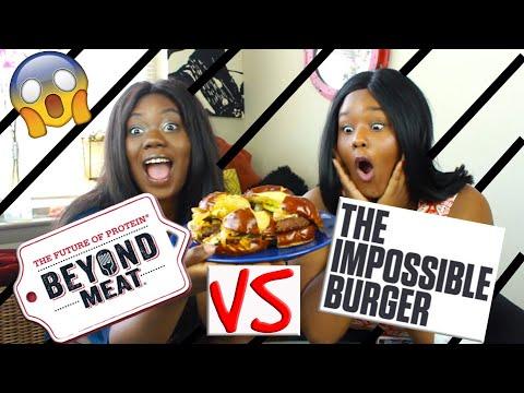 Impossible Burger vs Beyond Meat| Ultimate Taste Test