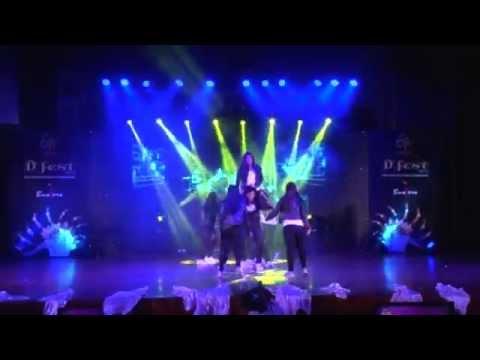 Jayshree Periwal International School -- Westen free style group dance category