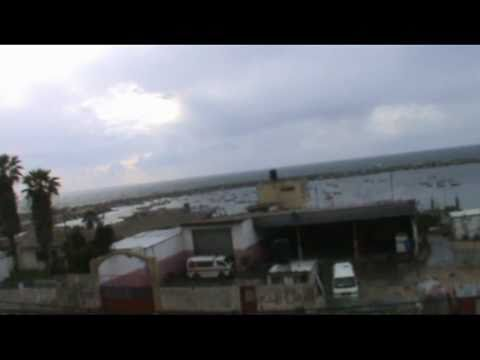24/03/2011 Israeli drone UAV over Gaza City port   (Israeli terrorism)