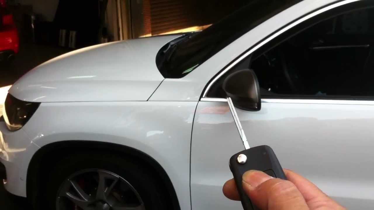 2012 Vw Tiguan 2 0tsi Auto Fold In Exterior Mirror When