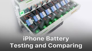 iPhone Battery Testing and Comparing