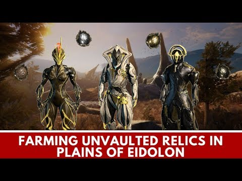 Warframe: How to Farm New Un-vaulted Relics Fast (Loki Prime, Ember Prime, Frost Prime)