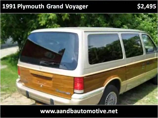 1991 Plymouth Grand Voyager Used Cars Menominee MI