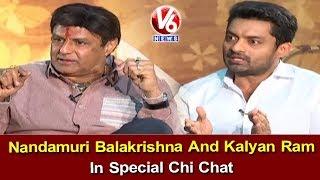 Nandamuri Balakrishna And Kalyan Ram In Special Chi Chat | NTR Mahanayakudu