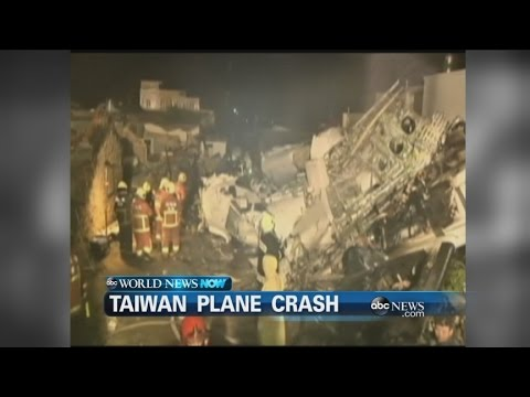 WEBCAST: Plane Crashes in Taiwan
