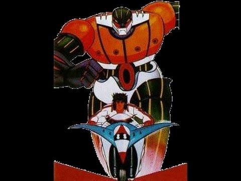 Cover cartoni animati – Jeeg Robot d'Acciaio (Kotetsu Jeeg)