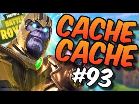 CACHE CACHE SUR MINECRAFT ! MAP FORTNITE ! EPISODE 93 ! thumbnail