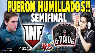 "¡FUERON HUMILLADOS! Infamous vs G-Pride [Game 1] - ""SEMIFINAL"" - EPICENTER MAJOR DOTA 2"
