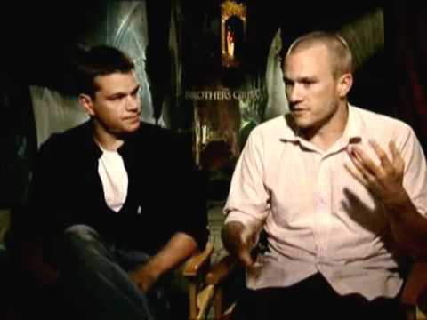 Heath Ledger and Matt Damon talk Brothers Grimm