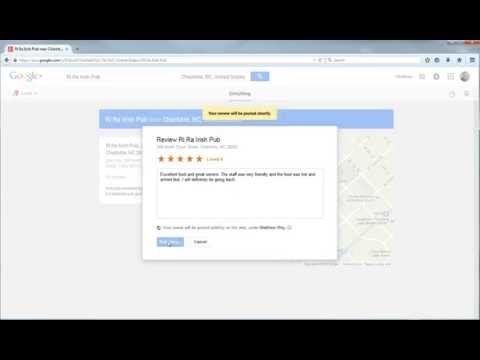 How to Write a Business Review in Google