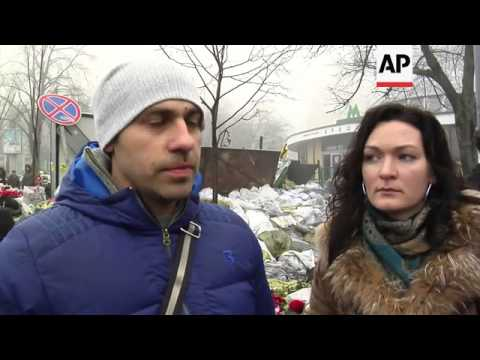 Ukrainians react to Putin's statement on crisis in Crimea