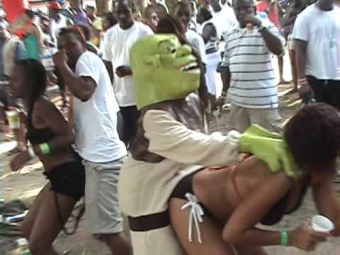 BlackBeachWeek.Com Presents Shrek At  A.T.I  Weekend In Negril
