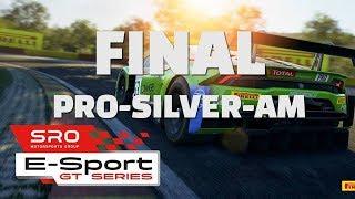 SRO E-Sport GT Series - Round 1: Monza Final (PRO-SILVER-AM)