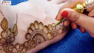 Mehndi Design for Legs | New Floral Mehndi Design for Legs by Sonia Goyal #314