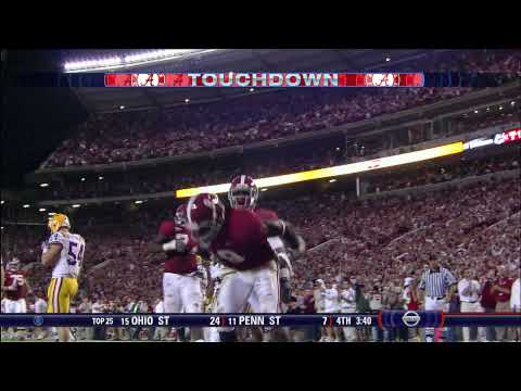 Julio Jones TD Reception Against LSU Video