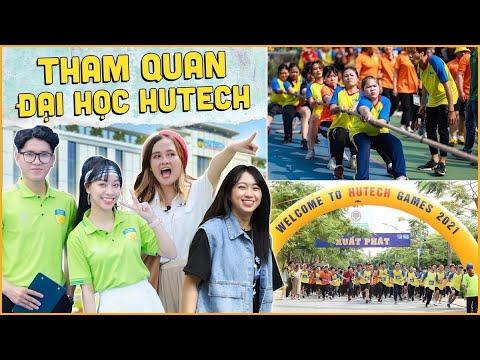 Thăm trường ĐH HUTECH - ngôi trường HOTGIRL, HOTBOY !!!