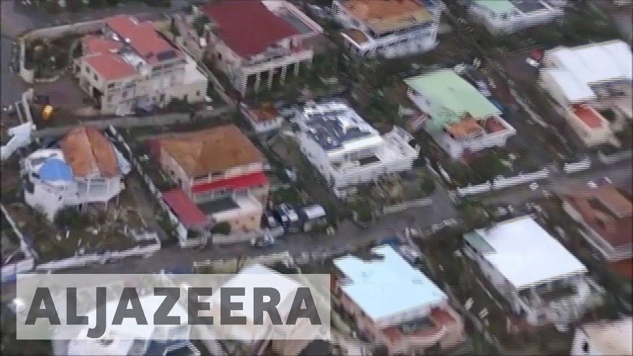 Barbuda 'barely habitable' after Hurricane Irma