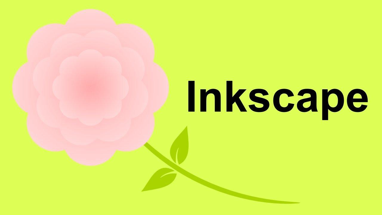 Inkscape Vector Flower Inkscape Youtube
