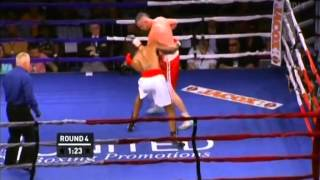 Dillon Carman vs Sylvera Louis 2013 06 01