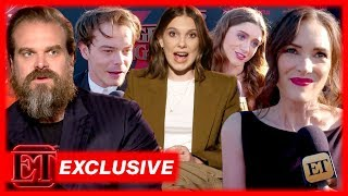 Stranger Things Stars React to That SHOCKING Season 3 Finale! (Exclusive)