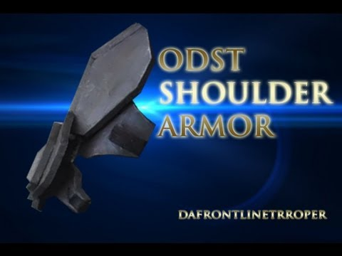 How To Make A Halo Odst Costume The Shoulders How To